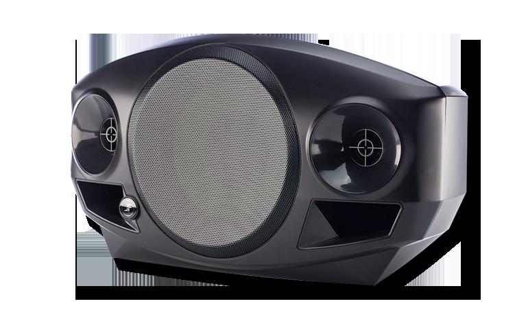 Akkubetriebene Lautsprecher