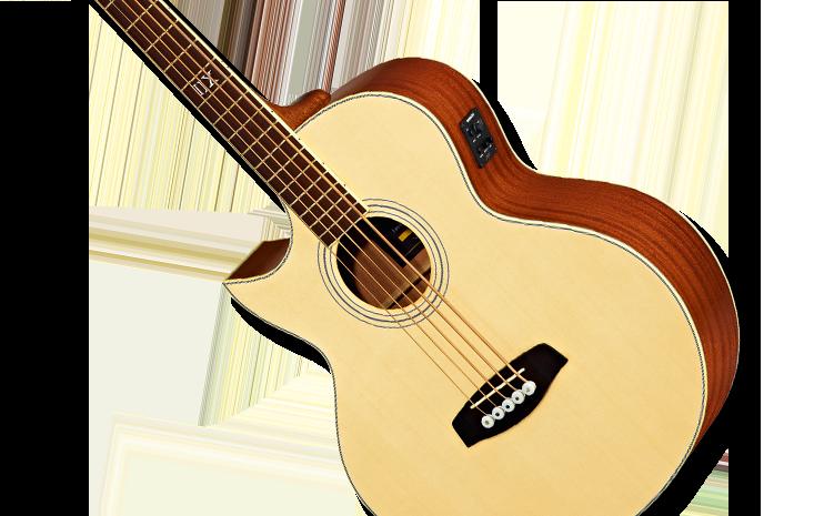 Linkshänder-Akustikbässe