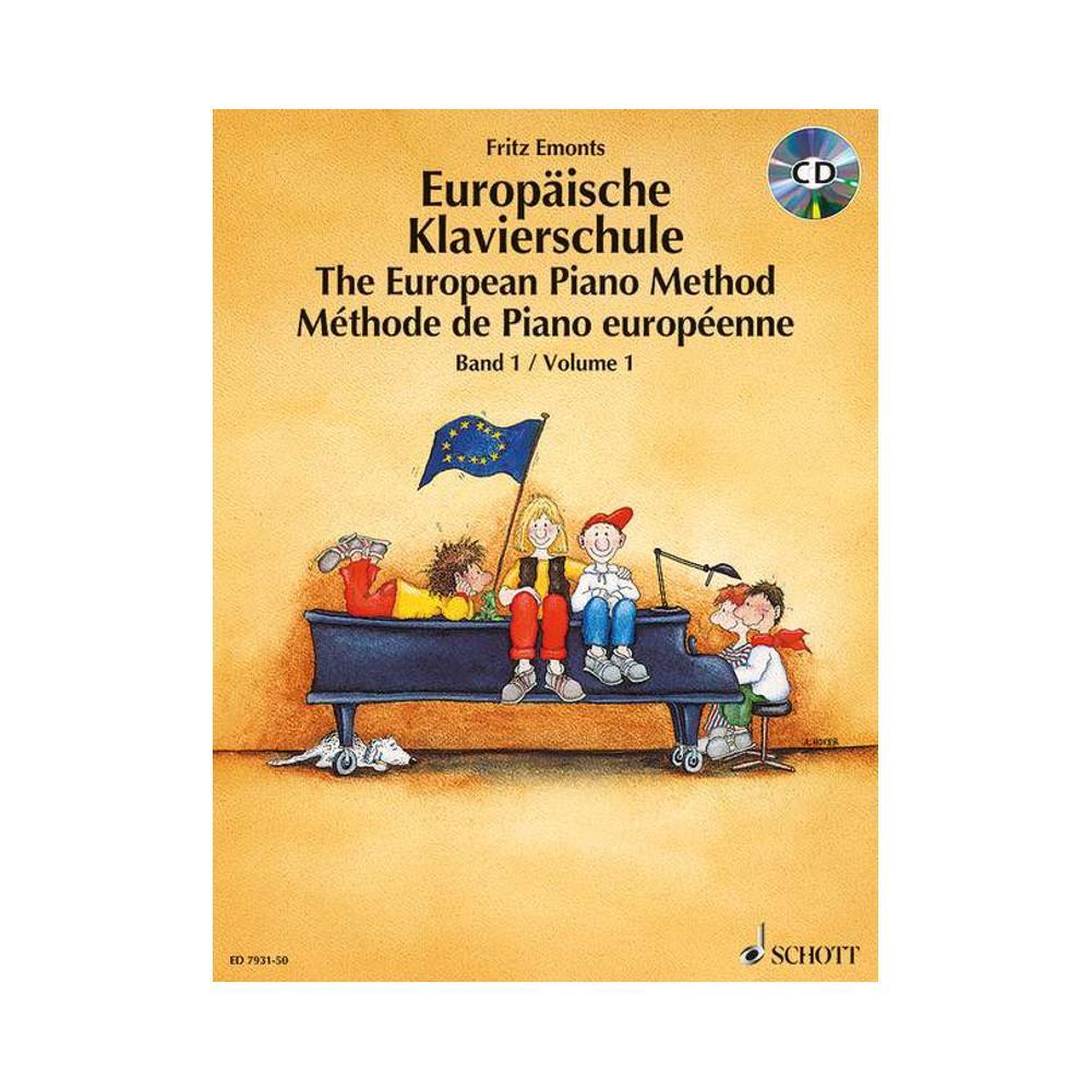 Schott Verlag Europäische Klavierschule Band 1 Mit Cd
