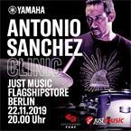 JustMusic Drumclinic Antonio Sanchez