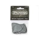 Dunlop Nylon Standard Plektrum, 0,73 mm, grau