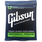 Gibson Masterbuilt Premium, Phosphor Bronze, Light