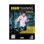 Hage Musikverlag Drum Training Groove mit CD und DVD