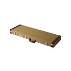 Justin E-Gitarren Universal Koffer Vintage Gold