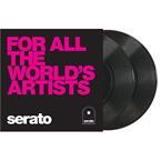 "Serato 10"" Control Vinyls All The World schwarz"