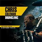 JustMusic Eintrittskarte Chris Coleman Drumclinic