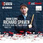 JustMusic Eintrittskarte Richard Spaven Drumclinic