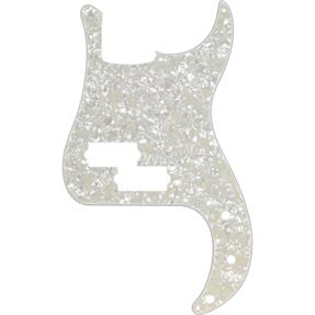 Fender Pickguard für P-Bass, White Pearl
