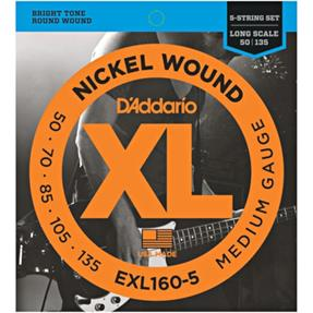 D'addario EXL160-5 Regular