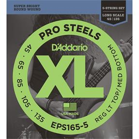D'addario EPS165-5 Regular Light Top/Med Bottom
