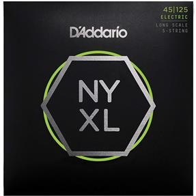 D'addario NYXL45125 Light Top / Medium Bottom