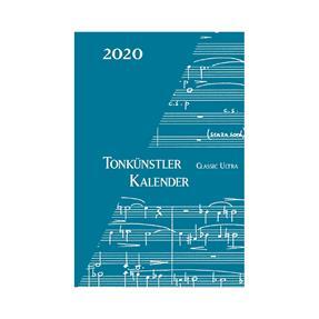 Robert Lienau Verlag Tonkünstler Kalender 2020