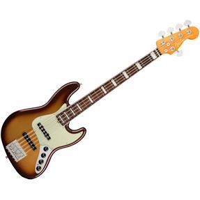 Fender American Ultra Jazz Bass V, RW Mocha Burst