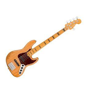 Fender American Ultra Jazz Bass V, MN Aged Natural