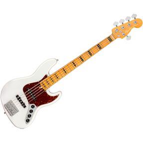 Fender American Ultra Jazz Bass V, MN Arctic Pearl