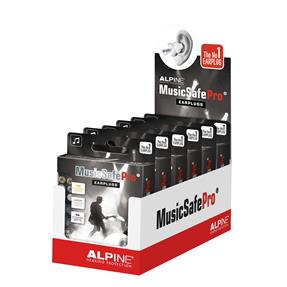 Alpine MusicSafe Pro Earplugs - transparent