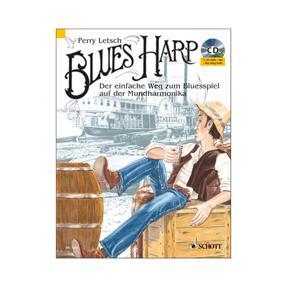Schott Verlag Blues Harp mit 2 CDs