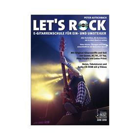 Acoustic Music Books Lets Rock mit CD