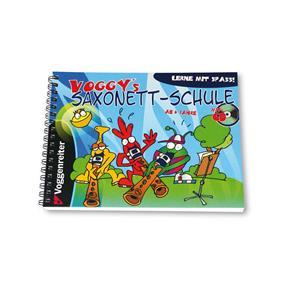 Voggenreiter Voggy's Saxonet-Schule mit CD