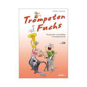 Hage Musikverlag Trompeten Fuchs Band 1 mit CD