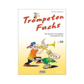 Hage Musikverlag Trompeten Fuchs Band 2 mit CD