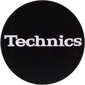 Technics Slipmats schwarz