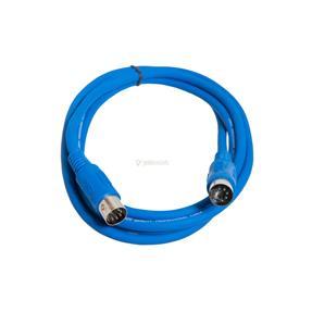 Justin MIDI-Kabel STD 1m blau