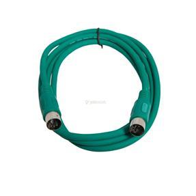 Justin MIDI-Kabel STD 1 m grün