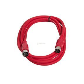 Justin MIDI-Kabel STD 1m rot