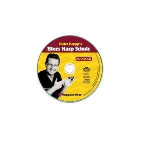 Voggenreiter Kropp's Blues Harp Schule mit CD/DVD