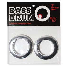 "BASSDRUM OS 2"" Tom Ports Chrome"