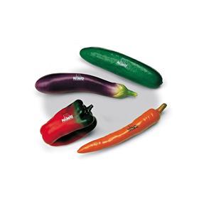 Meinl Nino 101 Botany Shaker Set Gemüse - 4 Stück