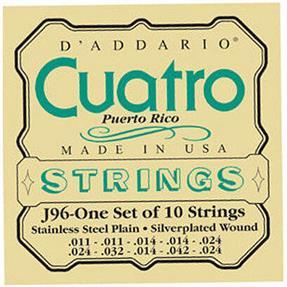 D'addario DAddario J96 Cuatro Puerto Rico