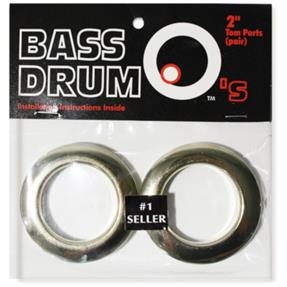 "BASSDRUM OS 2"" Tom Ports Brass"