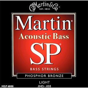 Martin Guitars MSP4800 Bass 92/ 8 Phosphor Bronze Light