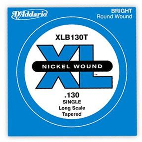D'addario Einzelsaite Bass .130 Tapered, Long Scale