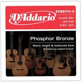 D'addario EPBB170-5 Regular light