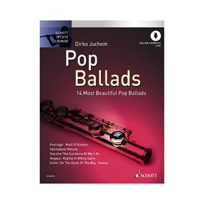 Schott Verlag Pop Ballads mit Downloadcode