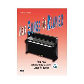 AMA Mehr Songs für Klavier mit CD