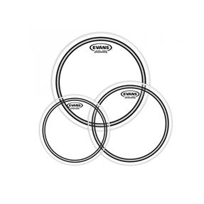 """Evans EC2 Clear Tom Pack Fusion 10"""", 12"""", 14"""""""