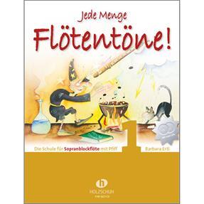 Holzschuh Verlag Jede Menge Flötentöne 1 mit 2CDs