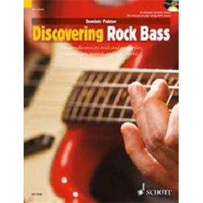 Schott Verlag Discovering Rock Bass mit CD