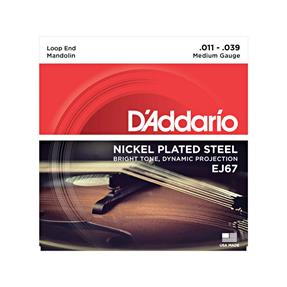 D'addario EJ67 Nickel Wound
