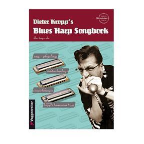 Voggenreiter Kropp's Blues Harp Songbook mit CD