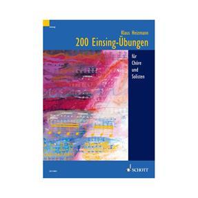 Schott Verlag 200 Einsing-Übungen