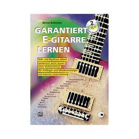 Alfred Publishing Garantiert E-Gitarre Lernen mit CD