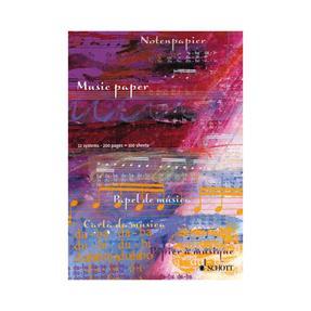 Schott Verlag Notenblock 12 Systeme