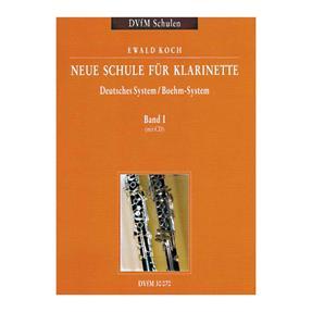 Breitkopf Verlag Neue Schule für Klarinette Band 1