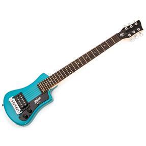 Höfner Shorty Electric, Blue inkl. Gigbag
