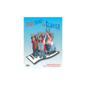 AMA 240 Songs für Klavier mit CD